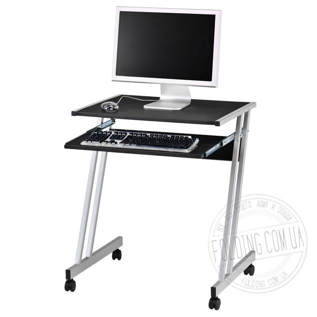 Столик компьютерный на колесиках