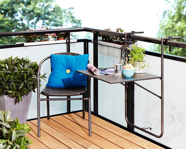 Купить откидной столик на балкон цены..